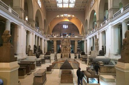 Private Day Tour: Egyptian Museum, Citadel and Khan El Khalil Bazaar and Lunch on Cairo River Island
