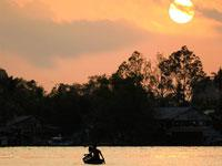 Ho Chi Minh City and Canals Private Sunset Cruise by Speedboat