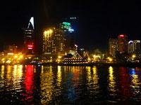 Ho Chi Minh City Night Tour with Hot Pot Dinner