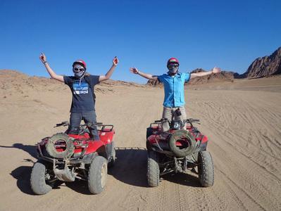 Hurghada Desert Half Day Quad Biking