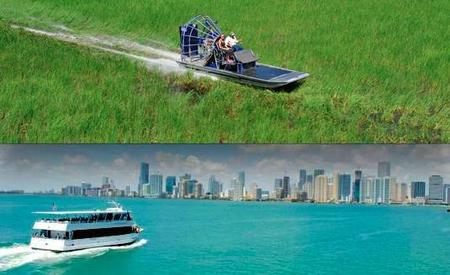 Everglades and Miami by Boat: Self-Drive Combo Ticket