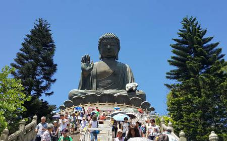 Hong Kong Lantau Island Monastery and Big Buddha Tour