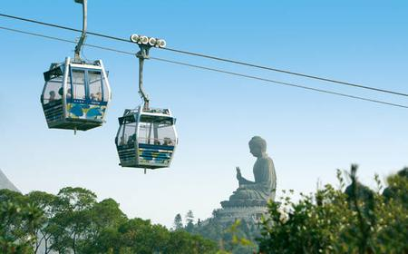 Lantau Island Tour with Vegetarian Lunch at Temple