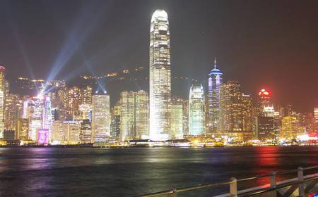 Hong Kong 4-Hour Evening Bus Tour with Dinner