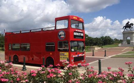 Houston: Hop-On Hop-Off City Sightseeing Tour