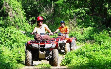 From Huatulco: Full-Day ATV Tour to the Waterfalls