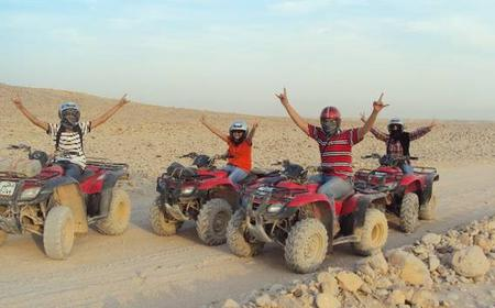 From Hurghada: 7-Hour Desert Safari with Quad Biking