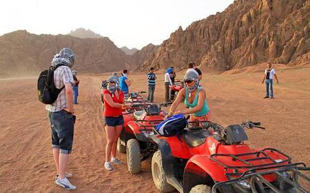 Hurghada 5-Hour Quad Bike Safari & Bedouin Visit