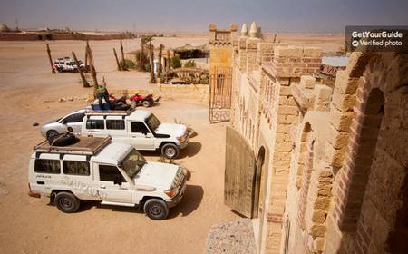 Hurghada: 6-Hour 4WD Desert Safari, Dinner, and Show