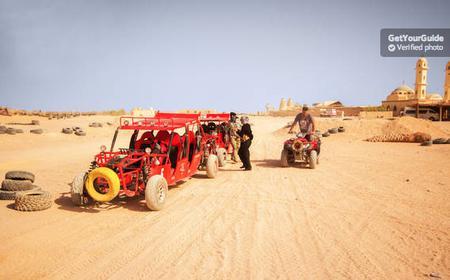 Hurghada: 5-Hour Quad Bike Desert Safari and Barbecue