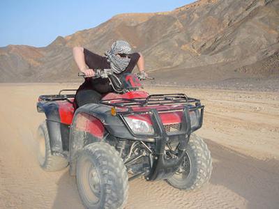 Hurghada: Desert Quad Safari at Sunrise