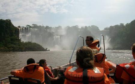 Iguazu Falls Walking Tour with Boat Ride Under the Falls