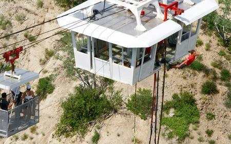 3.5 Hour Canyon Jump from Glass Floor Gondola
