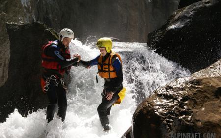 Saxeten Gorge Canyoning