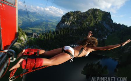 Bungee Jump Stockhorn: Bernese Oberland Mountains Plunge