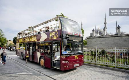 Big Bus Istanbul: Hop-On Hop-Off Bus Tickets
