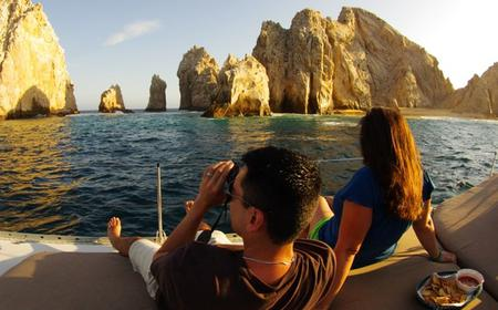 Los Cabos 3 Hour Private Sunset 42 feet Yacht Cruise