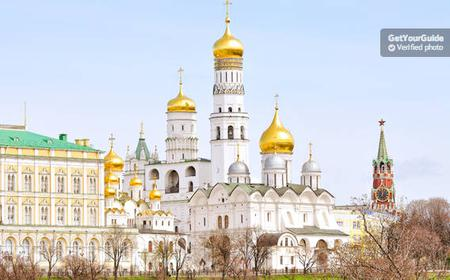 Moscow Kremlin: Cathedral Square Entry Ticket