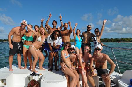Punta Cana Party Catamaran Cruise
