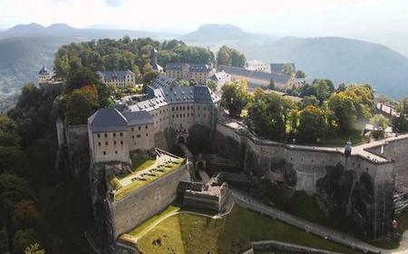Bastei Bridge and Fortress Königstein tour from Prague