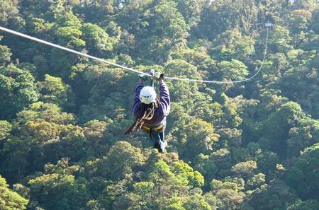 Zipline and Rappelling in Monteverde