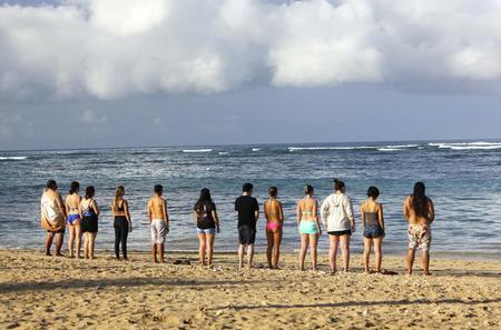Healing Ocean and Spiritual Cleansing Cultural Practice