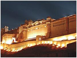 Amer Fort Sound & Light Show Tickets with Dinner