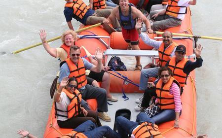 2.5-Hour Jasper Park Rafting Trip