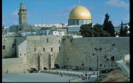 Jerusalem Half-Day Tour: Tel Aviv Hotel or Airport Transfers