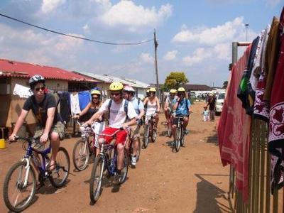 Full-Day Biking Tour Through Soweto Area in Johannesburg