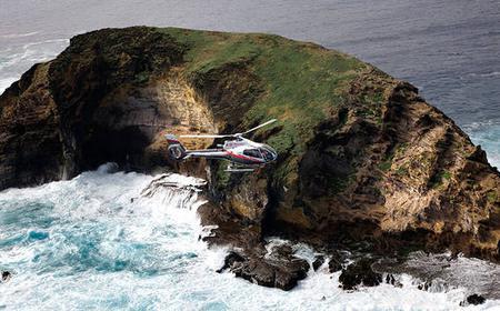 55-minute Moloka'i Voyage Helicopter Tour