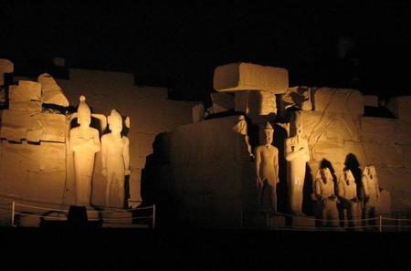 Small Group Tour: Karnak Temple Sound and Light Show in Luxor