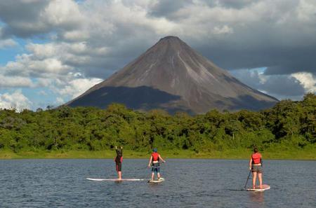 Stand Up Paddle Tour on the Arenal Lake