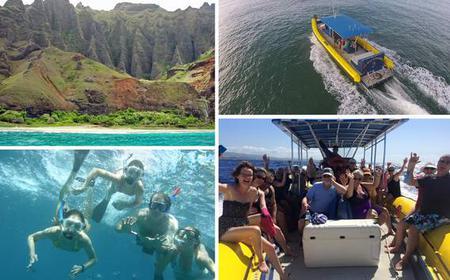 Lihue: Half-Day Kauai Snorkel & Sightseeing Tour