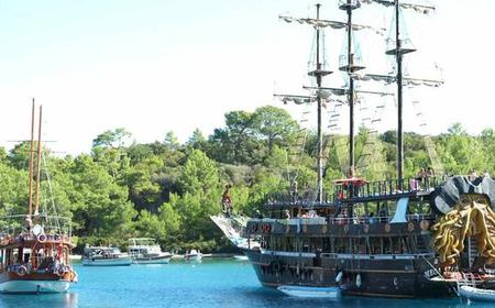 Kemer Full-Day Pirate Boat Trip with Lunch