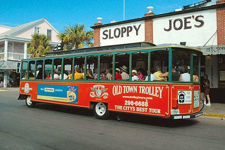 From Key West: Old Town Trolley 12-Stop Hop-On Hop-Off Tour