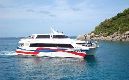 Koh Phangan to Khao Sok High Speed Ferry Transfers