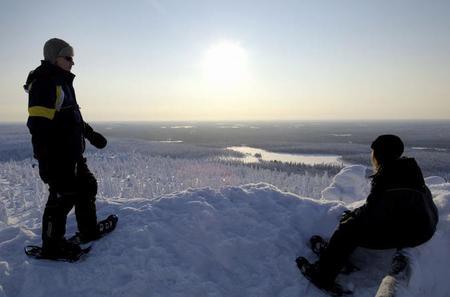 Northern Lights Snowshoe Hike in Rovaniemi