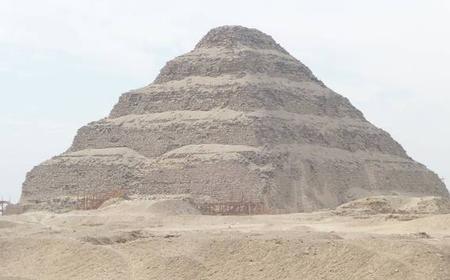 Giza Pyramids, Memphis, & Sakkara Private Full-Day Tour