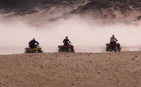 From Cairo: 2-Hour Quad Bike Safari in the Desert