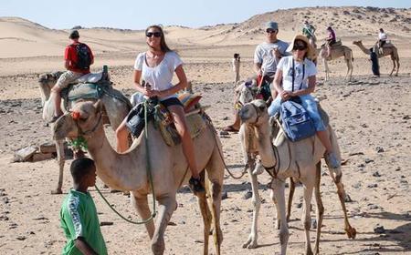 Saqqara: Full-Day Pyramids Tour and Camel Safari