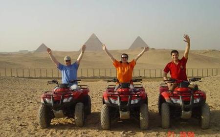Cairo: Giza Pyramids and Spinx Tour with Quad Bike Ride