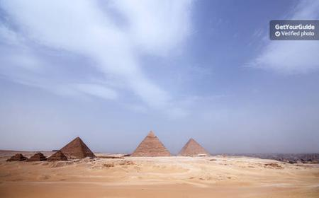 Giza Pyramids, Sphinx and Sakkara - Private Full Day Tour