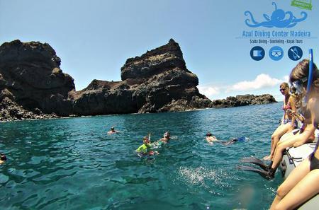 Snorkelling in Ponta de Sao Lourenço - Baia D'Abra