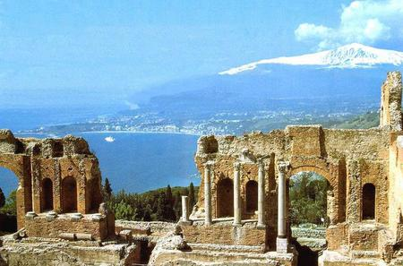 Etna and Taormina Full-Day Tour from Catania