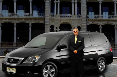 Private Mini Van Car Service From Honolulu Airport to Waikiki Hotels