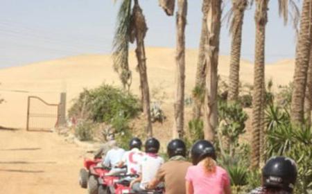 From Cairo: 6-Hour Desert Quad Bike Ride to Pyramids