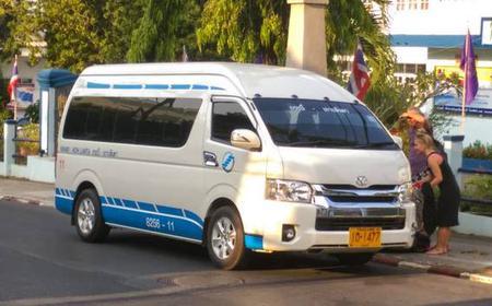 Koh Lanta to Krabi High Speed Transfer by Van and Ferry