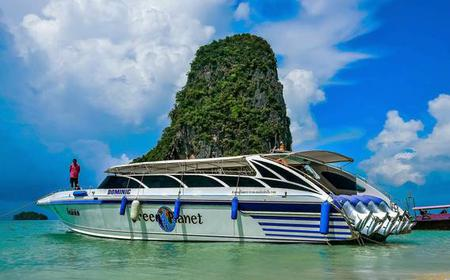Ao Nang to Koh Yao Noi Transfer by Speedboat