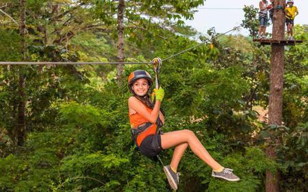 Zip Line Adventure in Krabi Fun Park